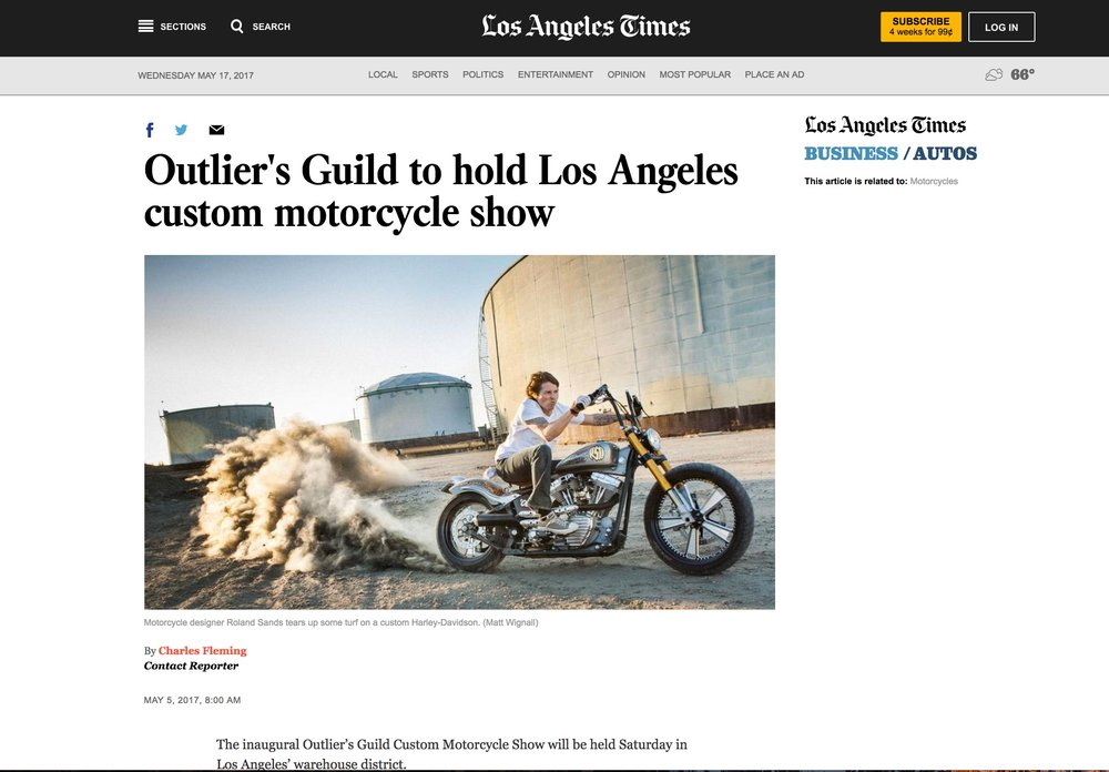 Featured in the Los Angeles Times