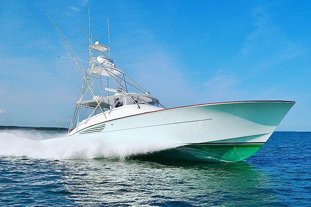 The new 61' Express; Osprey.  #garlingtonyachts #61 #express #sportfishing #yacht #newmodel #breathtaking #style #design #osprey