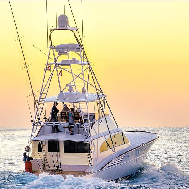 And this is just the start of their day... 📸: @srotagphoto  #garlingtonyachts #61 #brandnew #sophiamarie #sportfishing #goodmorning #sunrise
