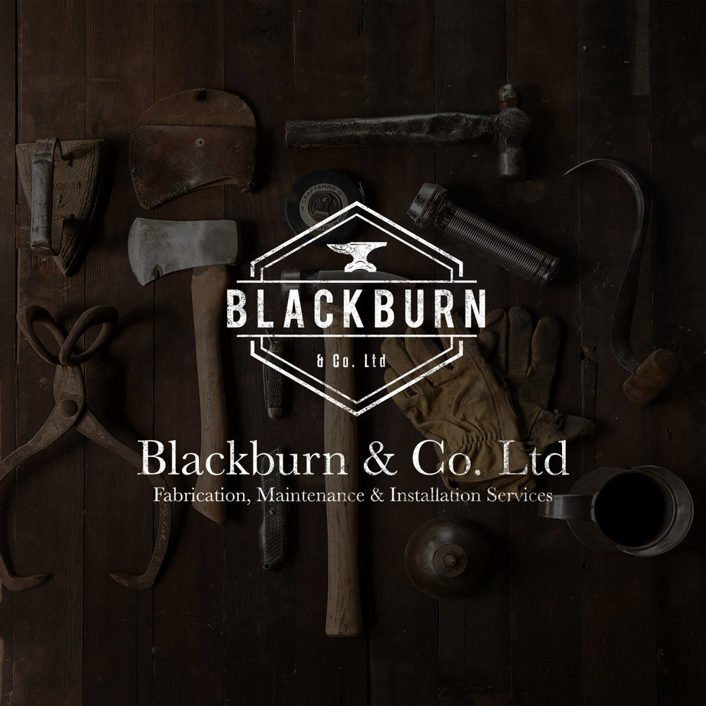 Logo, Website, Print Blackburn & Co. Ltd View Project