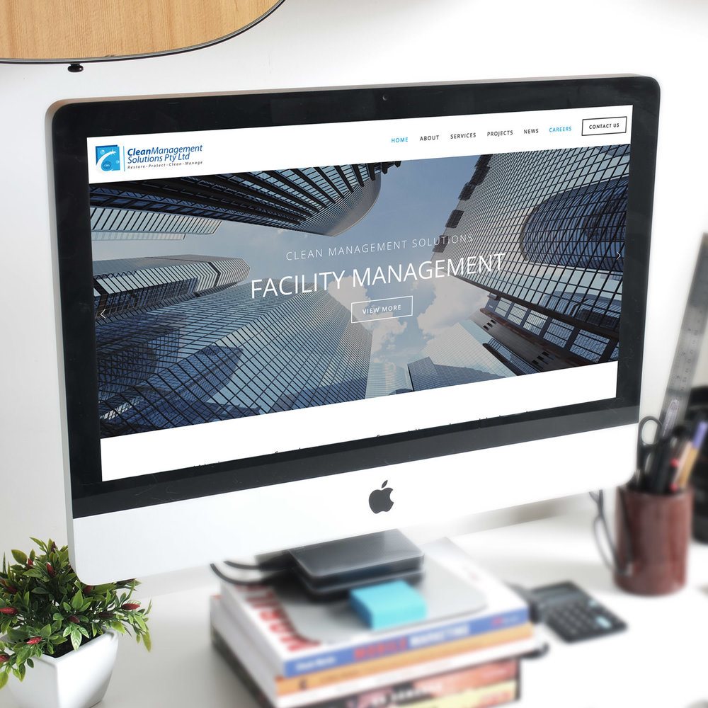 Website, Print, Graphic Design Clean Management Solutions View Project