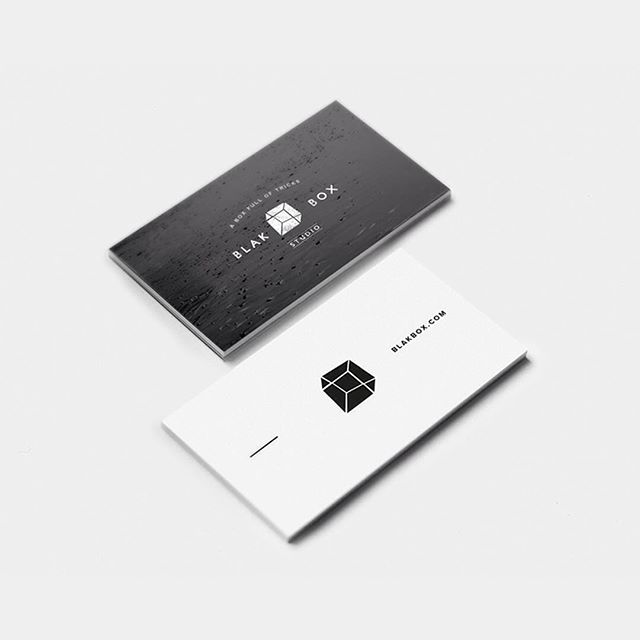 Logo and business cards for Blakbox Studio #logo #graphicdesign #goldcoast #print #design #businesscards