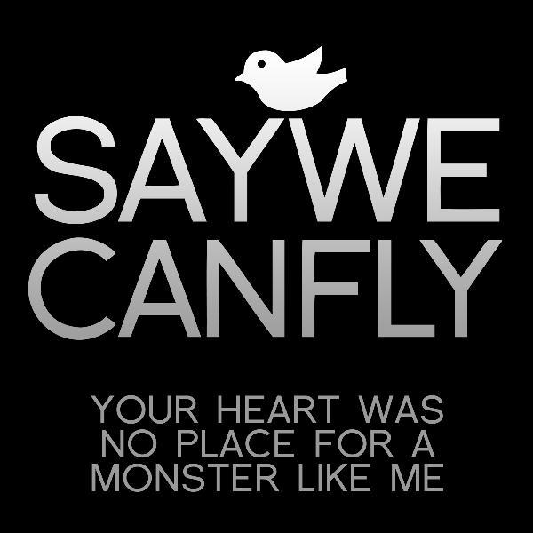 YOUR HEART WAS NO PLACE FOR A MONSTER LIKE ME (SINGLE) - 2012