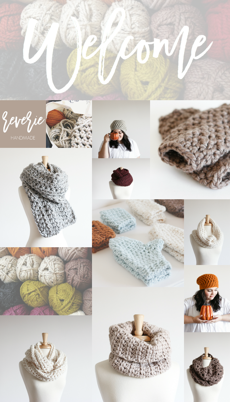 Welcome to Reverie Handmade | Chunky knits to keep you cozy & warm