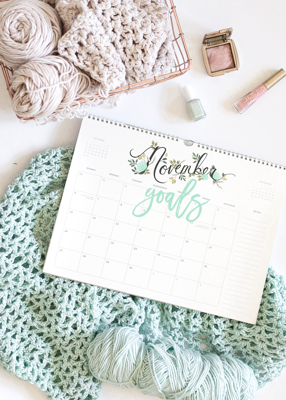 November Goals | A Girl, Obsessed