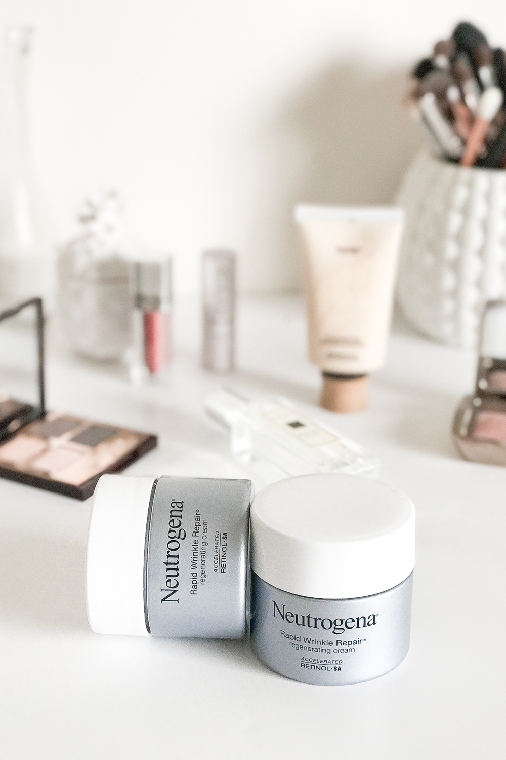 Neutrogena Rapid Wrinkle Repair Regenerating Cream | A Girl, Obsessed