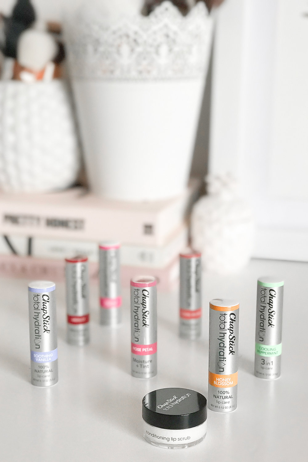 Chapstick Total Hydration Collection + Giveaway | A Girl, Obsessed