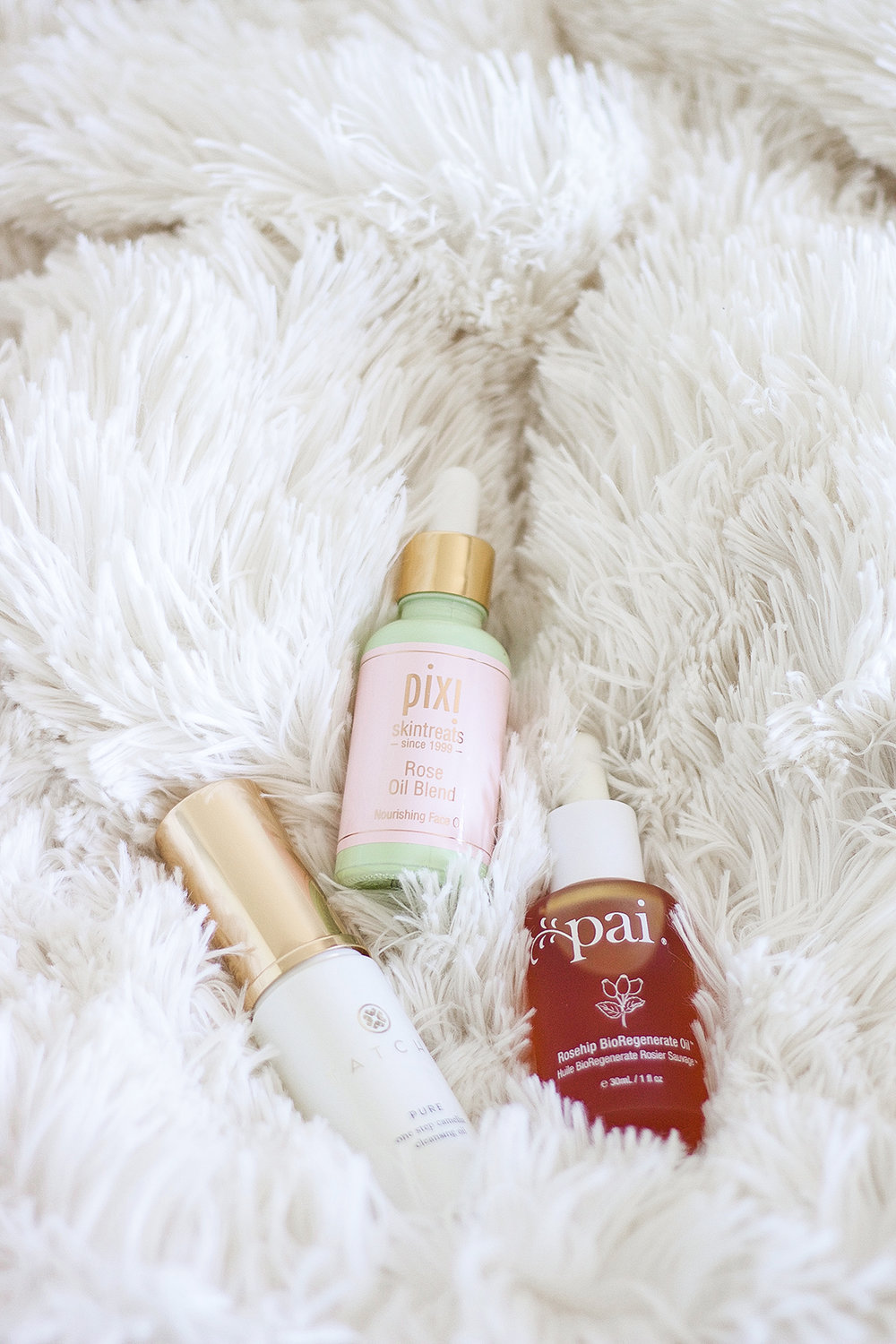 3 Face Oils To Try | A Girl, Obsessed