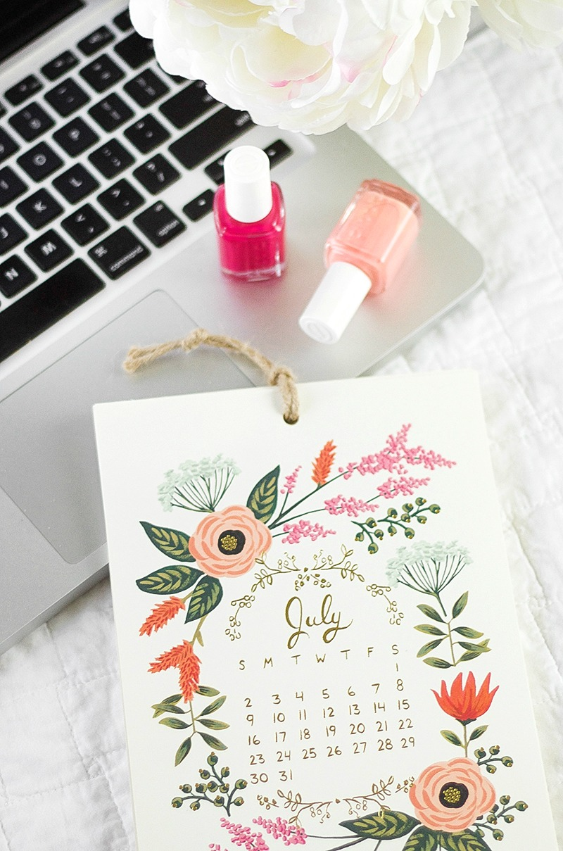 July Goals | A Girl, Obsessed