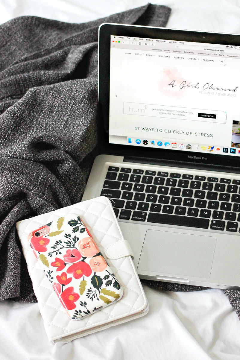 What To Do When Blogging Becomes Overwhelming | A Girl, Obsessed