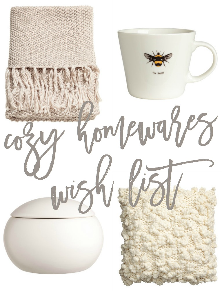 Cozy H&M Home Wish List | A Girl, Obsessed