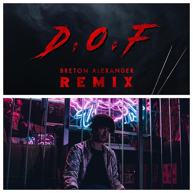 "Head over to our Facebook page to check out the premiere of @breton.alexander remix of our song ""Definition of Fine""  P.S. This remix is especially great if you are a fan of Stranger Things 80's synth 👻"