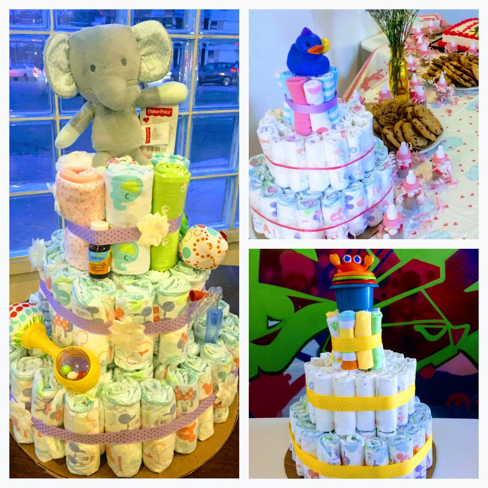 You got it! Get ready to amaze your friends and fellow baby-shower-goers with your fabulous creations!