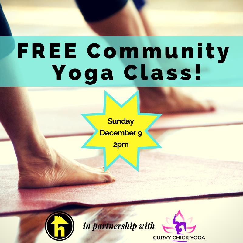 9b62704bdc5 FREE Community Yoga Class! — homiey