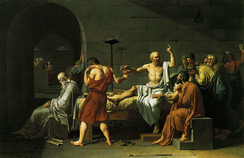 David: Death of Socrates
