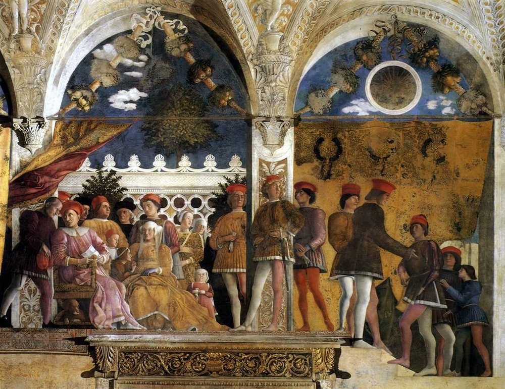 Mantegna: Mantua Ducal Palace