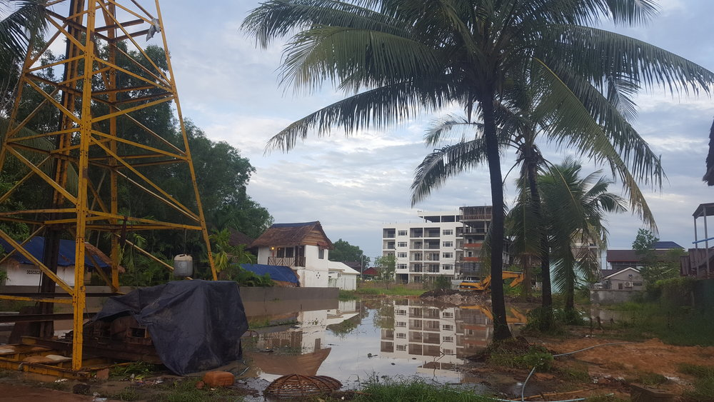 I doubt whoever cleared the land was intending to make a pond...   Photo Taken: June 9, 2018