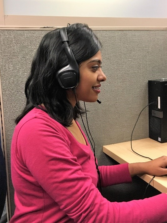 viiz Calgary Call Centre Agent Denise
