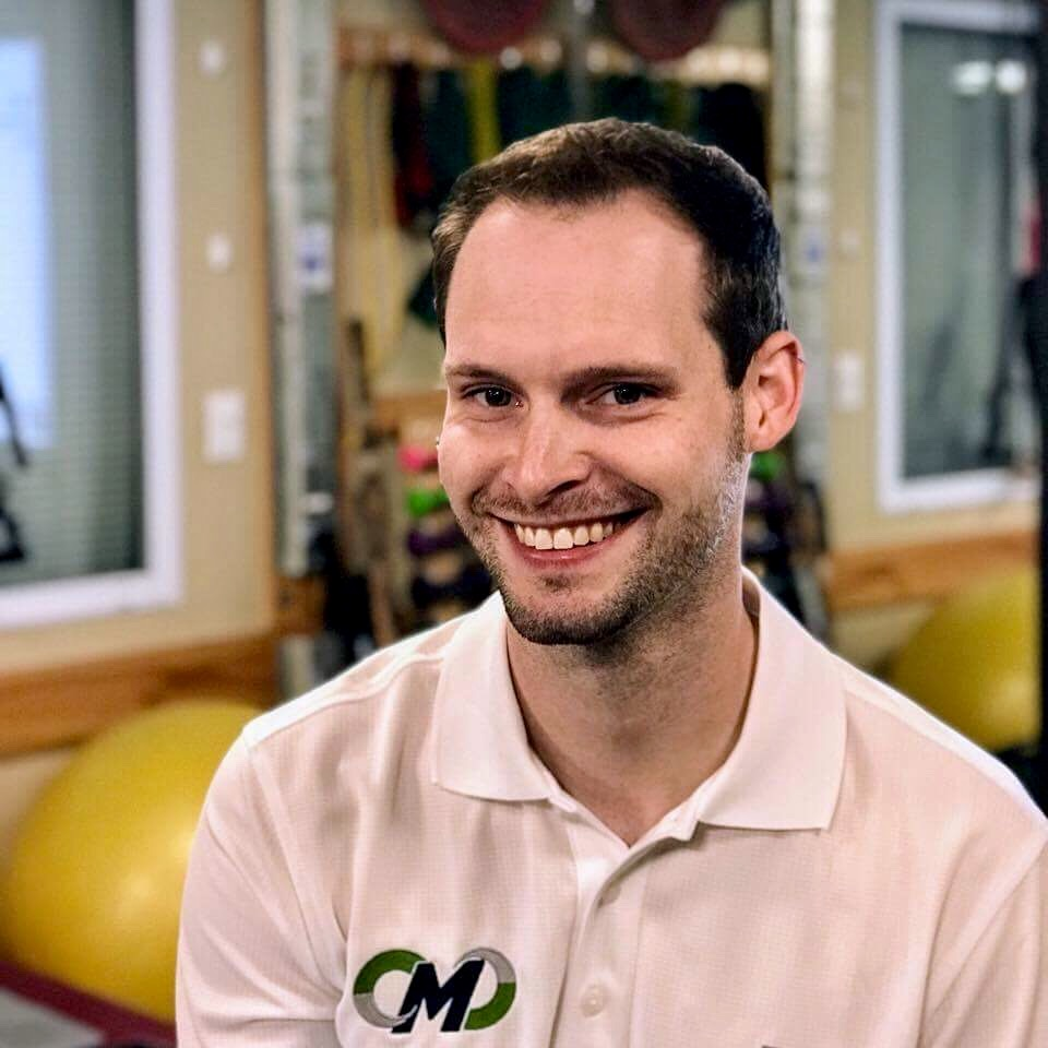 Kyle Coffey, PT, DPT, CertMST, Cert-APHPT is Owner of Motus Physical Therapy and Performance in Amherst, NH. He is a leader in the physical therapy field and is known for connecting with his patients to improve their rehab outcomes.