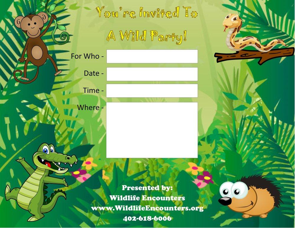 wildlife-encounters-birthday-party-invite