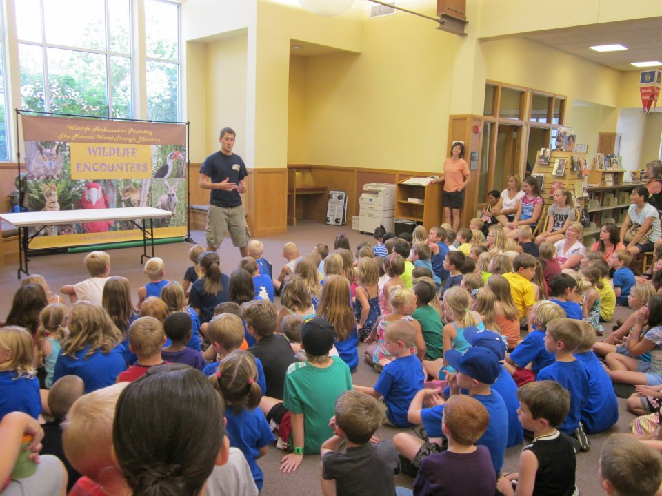 Wildlife Encounters Library Summer Reading
