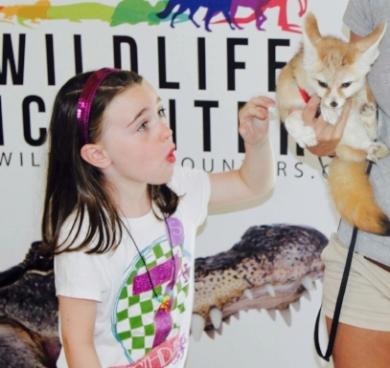 Birthday Party Wildlife Encounters