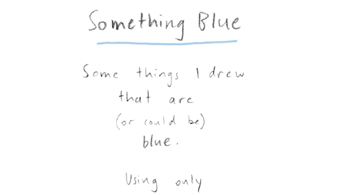 Something Blue. Alexandra Calisto. Art