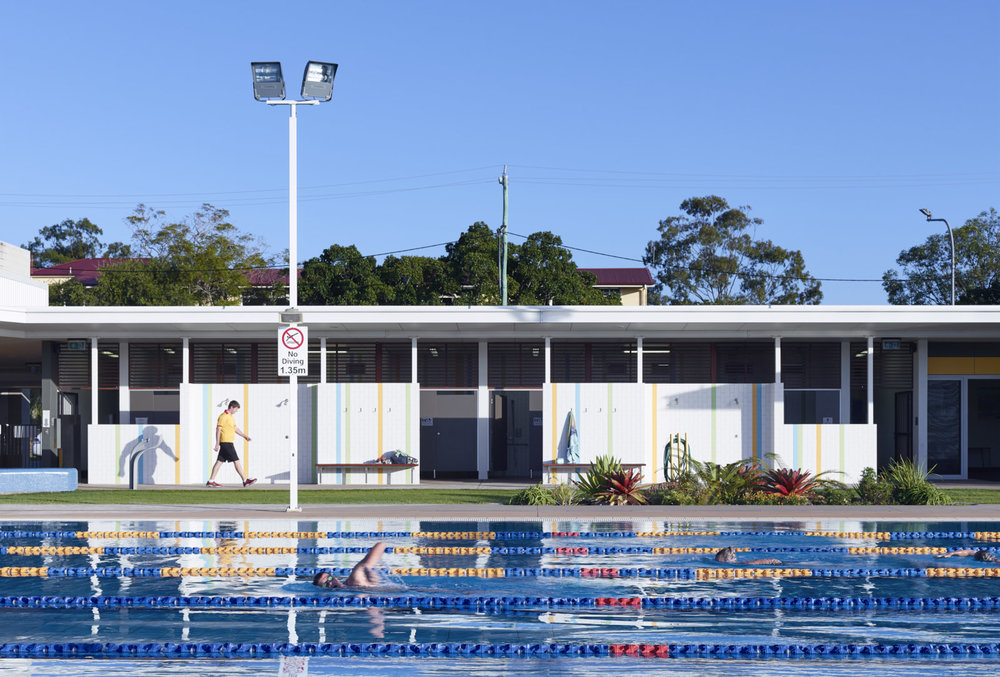 Maryborough Aquatic Centre by Guymer Bailey Architects