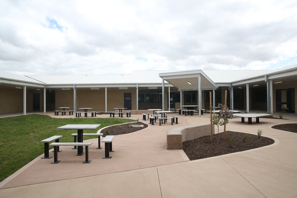 Transitions Hub Courtyard