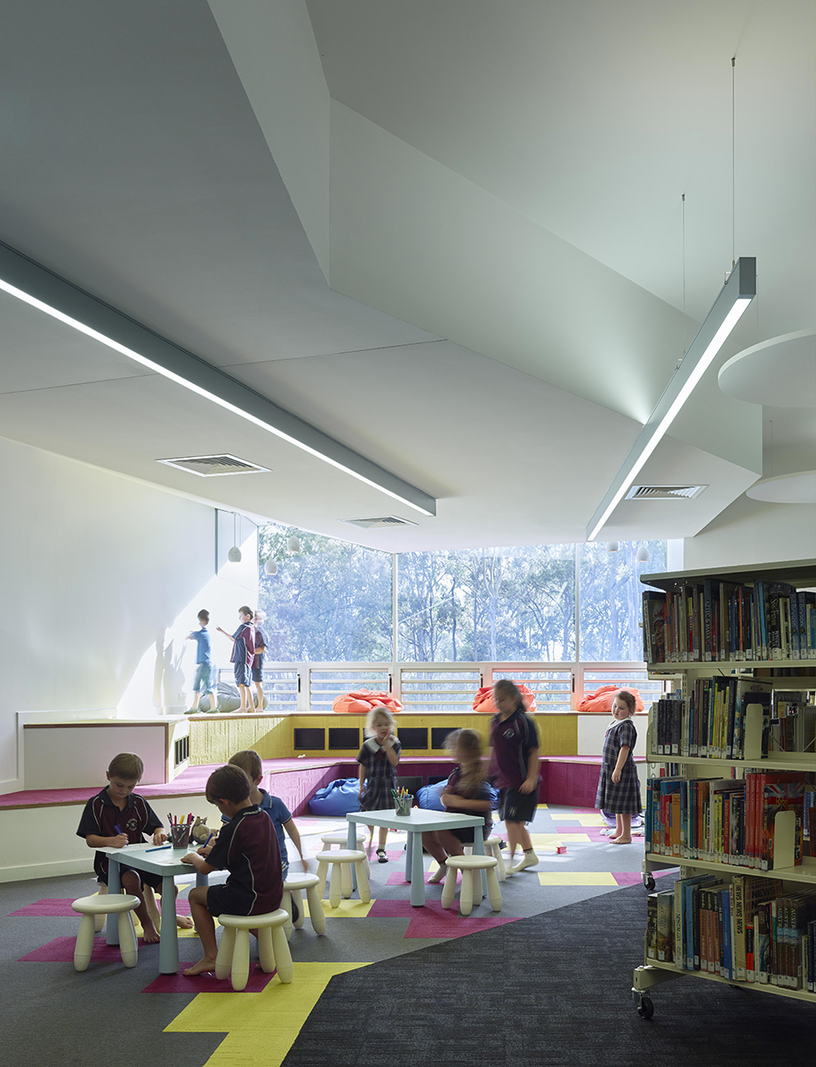 Arts Library Building by Guymer Bailey Architects