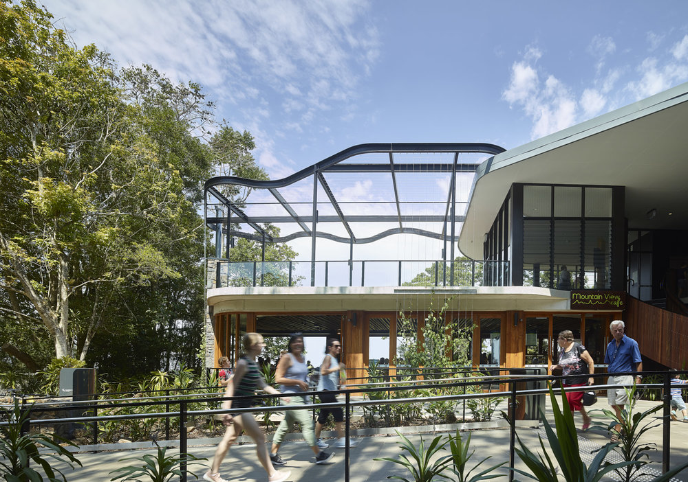 Mary Cairncross Visitor Centre by Guymer Bailey + Norman Richard