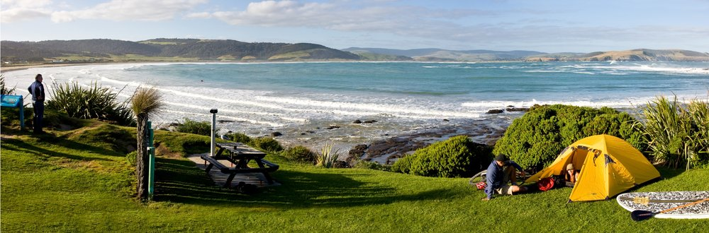 Catlins - Camping at Porpoise Bay.jpg