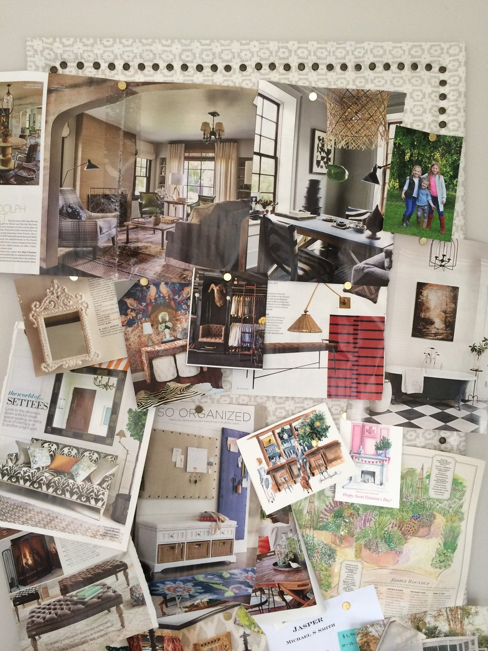 Alison Giese Interiors inspiration board