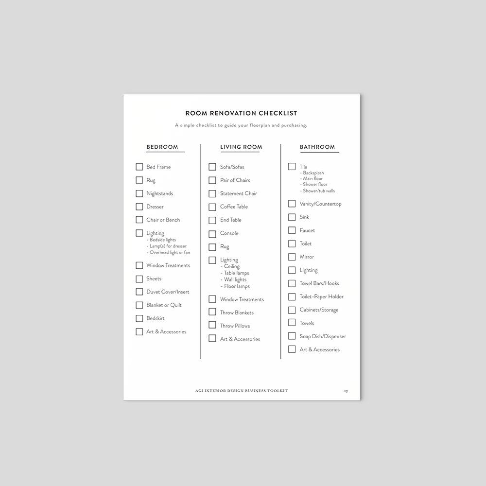 Interior Design Business Toolkit