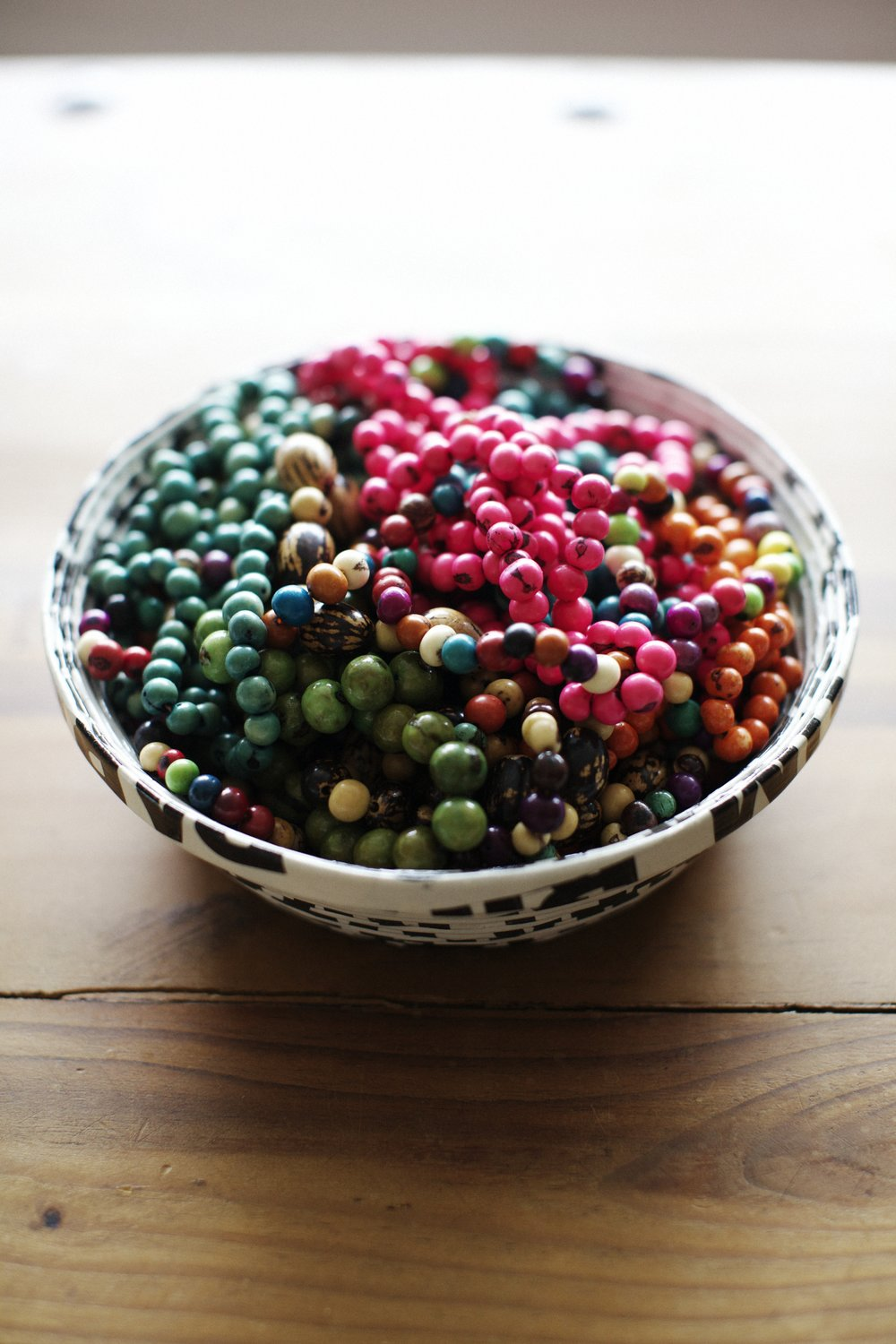Acai beads by Alison Giese Interiors