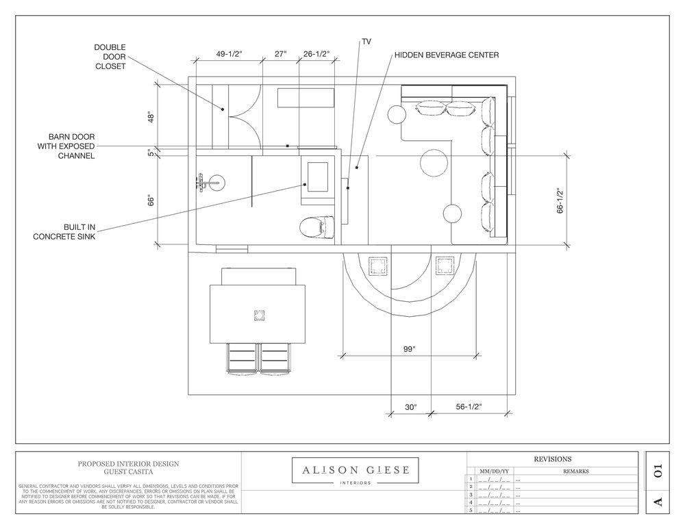 SA Casita Floorplan