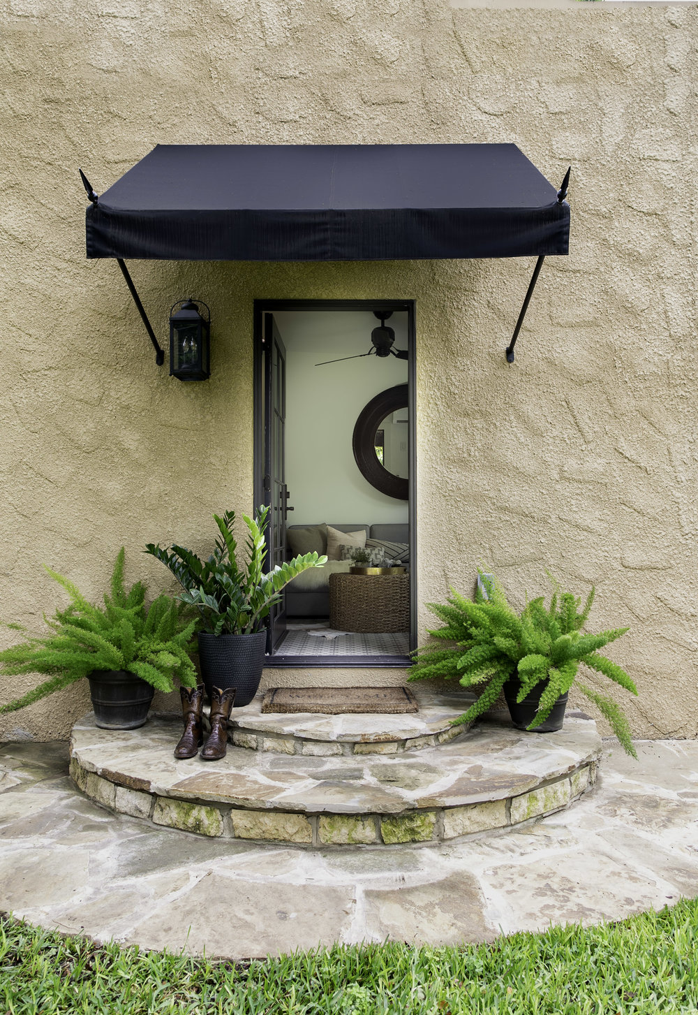 Casita exterior by Alison Giese Interiors