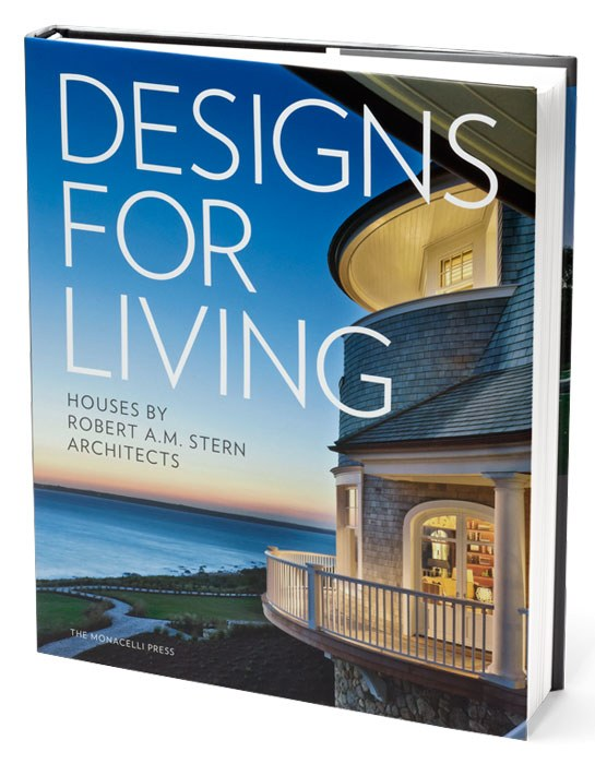 DESIGNS FOR LIVING,  Robert A.M. Stern Architects     Robert A.M. Stern Architects present fifteen houses the firm has completed over the past ten years.     Available from Amazon by clicking here.