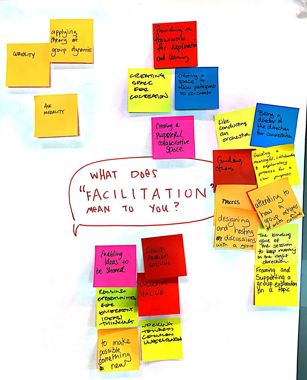 What does Facilitation mean to you?