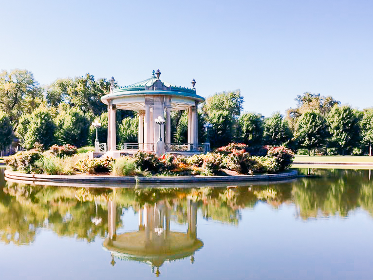 the gazebo - Forest Park, St. Louis, MO