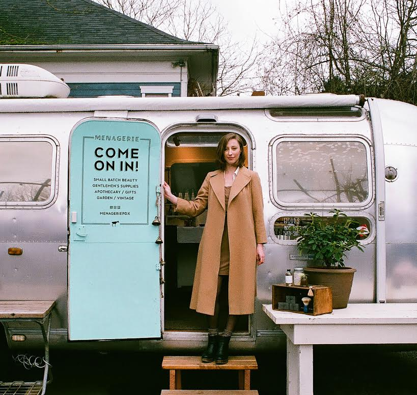Menagerie Running A Business Out Of A Vintage Airstream Start Or