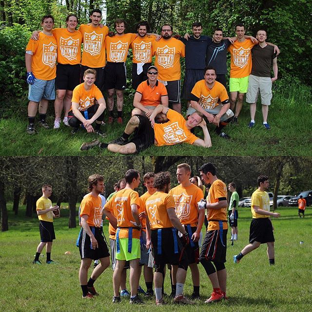 The Beaver Lodge ended this Ironbrawl week with the famous football 🏈 tournament. Our team has been able to win its first game but lost in the 2nd round! It was a lot of fun, and we always appreciate to do our best for the kids from @casavfc_corvallis ! Thanks @osu_theta for this amazing week. #ironbrawl2017 #CASA #oregonstate