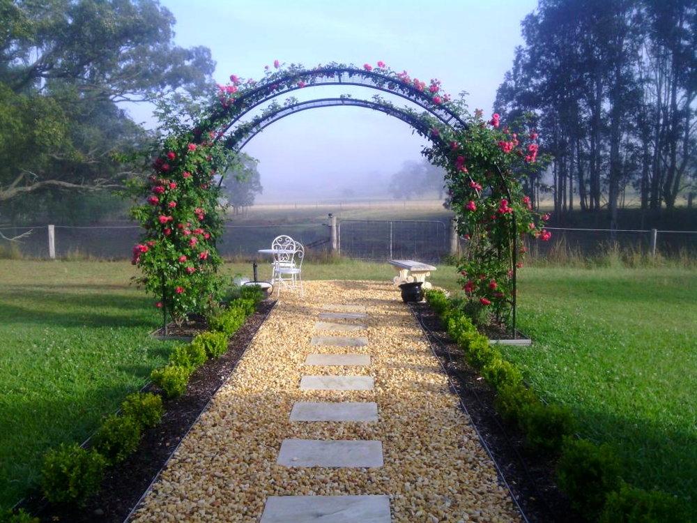 Garden landscaping dungog