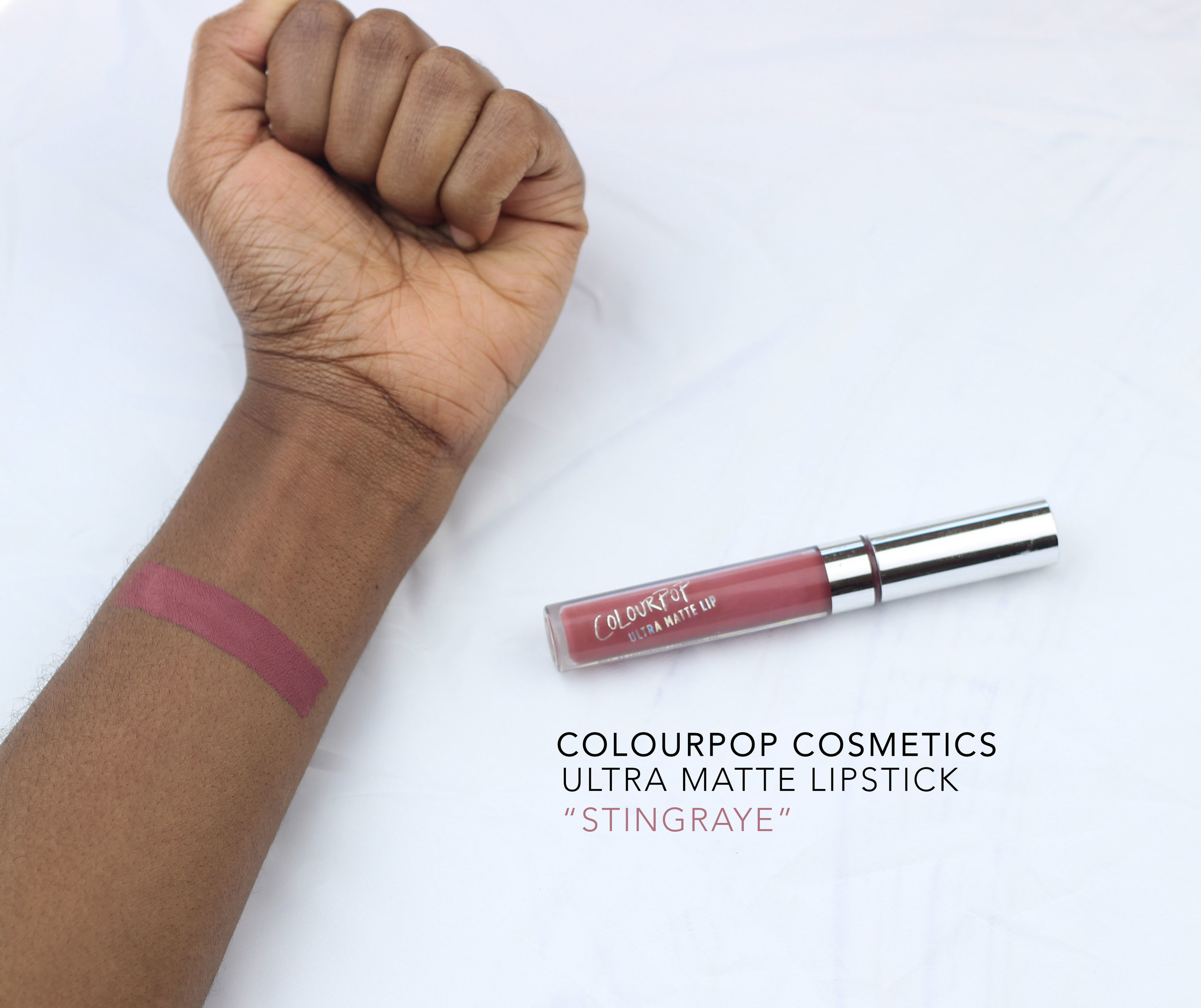 colourpop cosmetics stingraye
