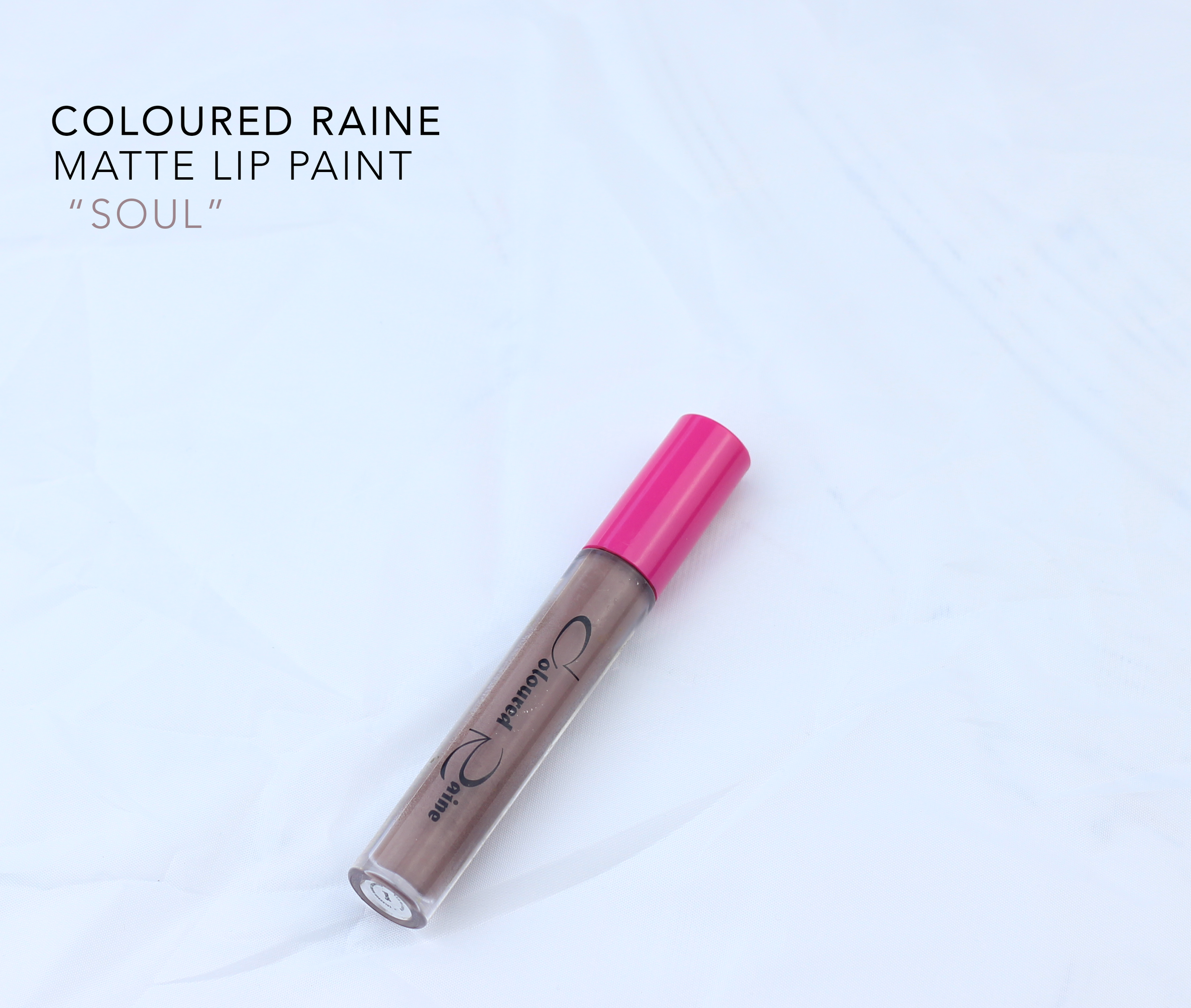 coloured raine soul matte lip paint
