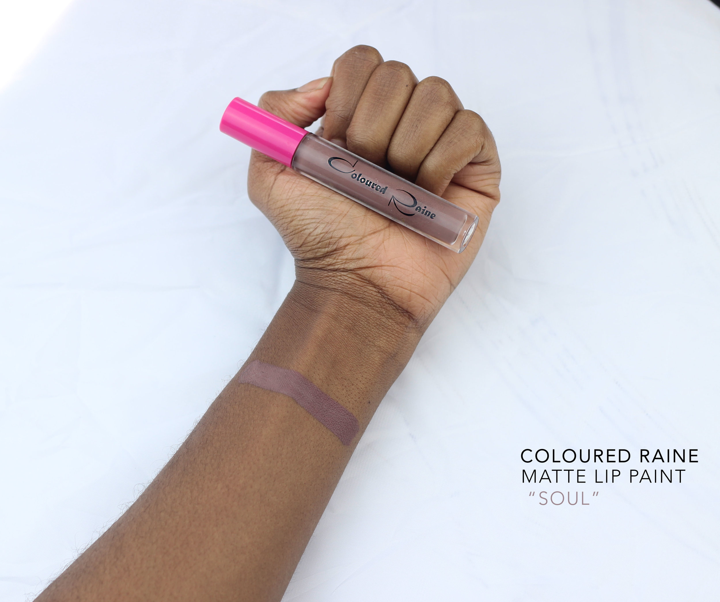 coloured raine soul swatch