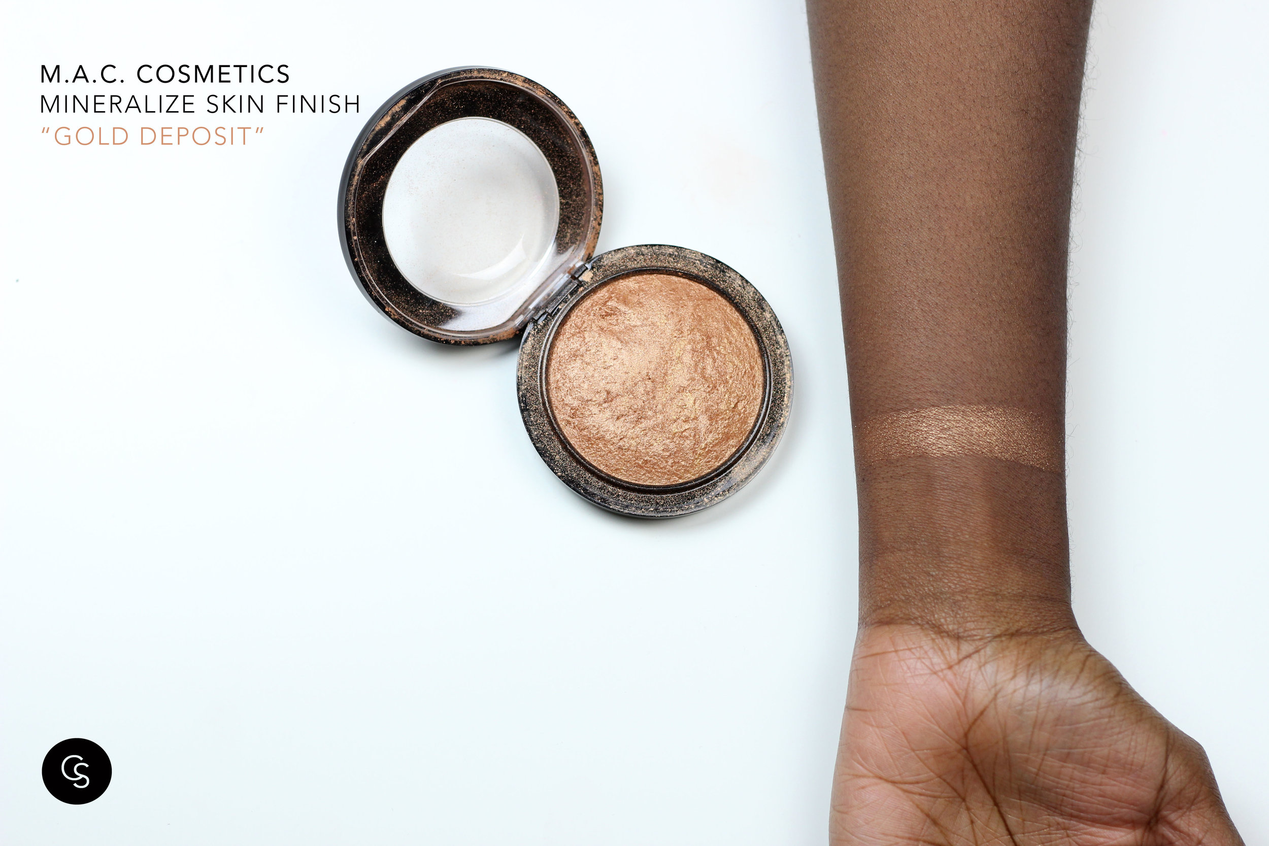 gold deposit swatch dark skin cocoa swatches