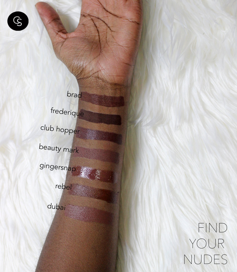 nude lipsticks for dark complexions