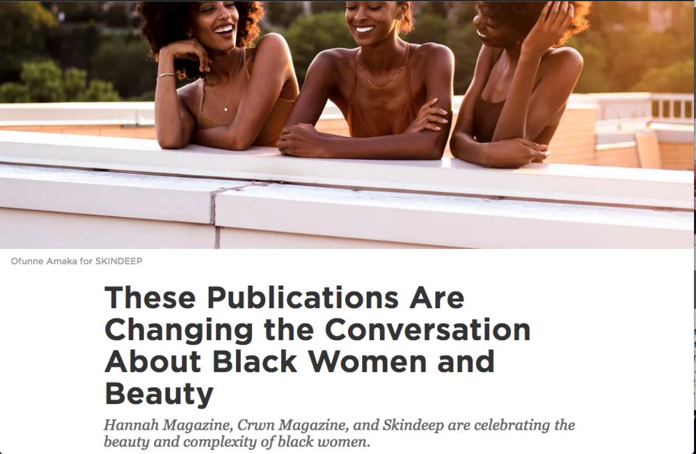 S K I N D E E P - beauty exploration, with melanin in mind