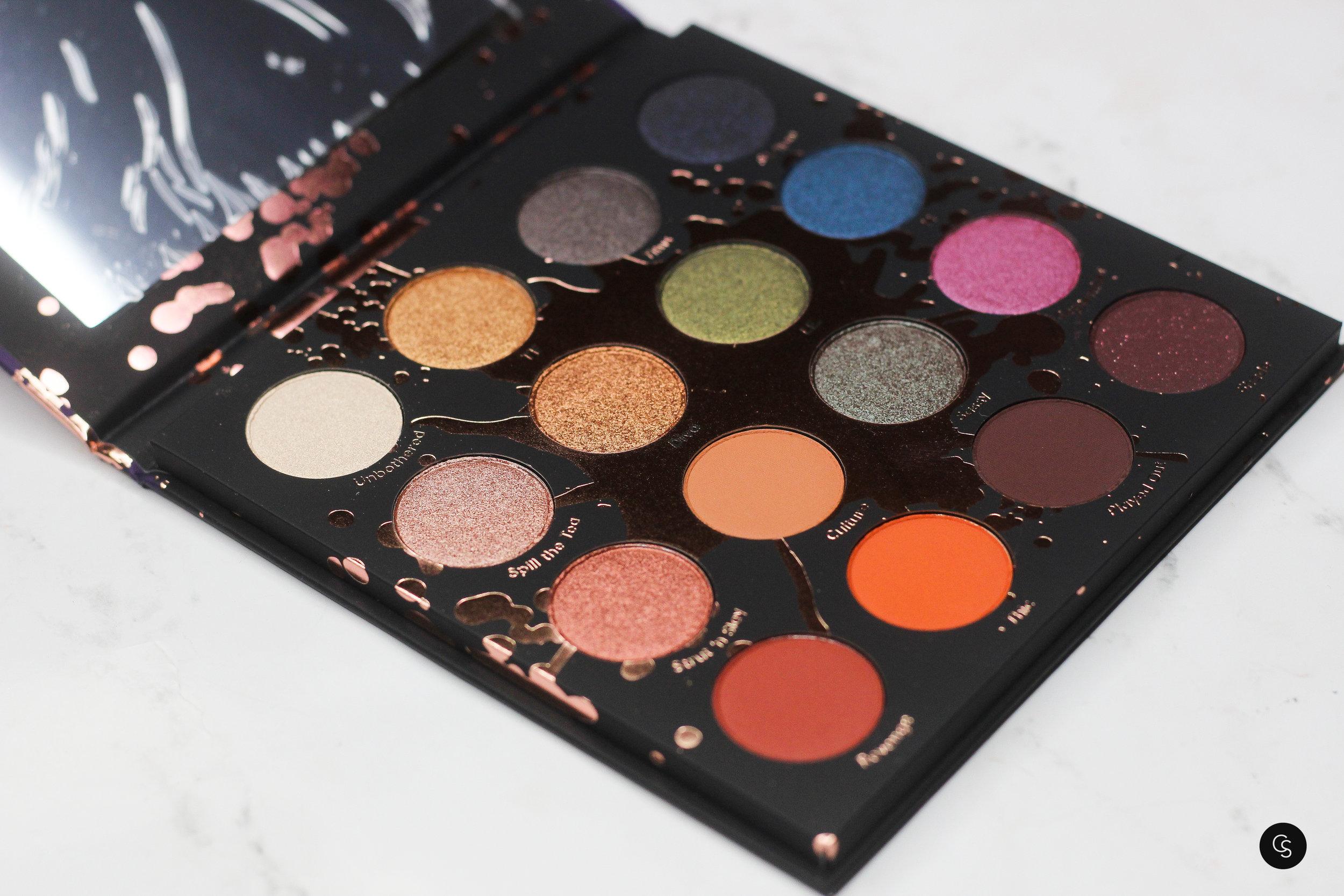 Perception Makeup Shayla X Colourpop Eye Shadow Palette Cocoa